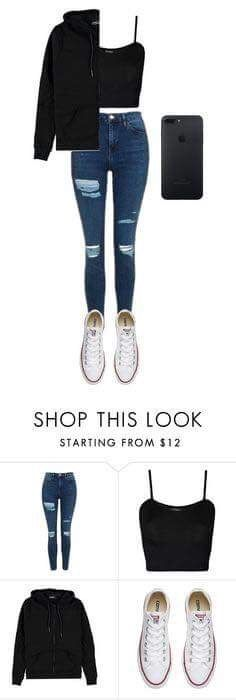 Very nice to wear in the spring Schuloutfits Teenage Outfits, Teen Fashion Outfits, Fashion Mode, Fall Outfits, High School Outfits, Fashion Fall, Fashion Trends, Converse Outfits, Jeans And Converse