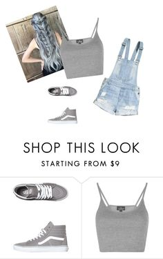"""Untitled #59"" by aahd-nagib on Polyvore featuring beauty, H&M, Vans and Topshop"