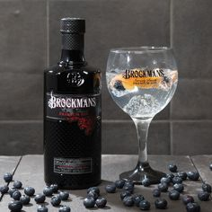 Brockman's: beautifully made gin.   Try a Brockman's G & G - add a slither of fresh ginger and 2 blueberries, extra large ice cubes and ginger ale.