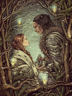 Love built on beauty vanishes as beauty fades. ......winterfell by bubug on DeviantArt
