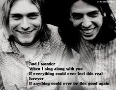 Dave Grohl and Kurt