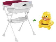 Banheira Splash 20L - Burigotto + Termômetro Digital para Banho Pato com as melhores condições você encontra no Magazine Sualojaverde. Confira!