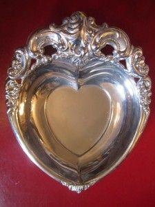 GODINGER Collectible Vintage Art Nouveau Silver Plate Bon Bon Dish | GoldenDa...