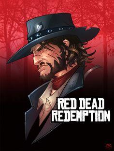 Red Dead Redemption John Marston by Bing-Ratnapala on deviantART