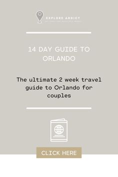 The perfect post for any travel couple to plan their trip to Orlando, full of beautiful pictures and travel ideas. #Orlando #Florida #Disney World #Disney #Harry Potter #Universal #Travel #Photography #blog #aesthetic #places to travel #adventure #destinations #photos #USA #travel tips #hacks #travel blog #travel blog photography #ideas Travel Ideas, Travel Guide, Travel Inspiration, Florida Travel, Usa Travel, Photography Ideas, Travel Photography, Visit Orlando, Orlando Florida