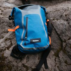 Waterproof Rucksack Indigo | Finisterre - A Cold Water Surf Company