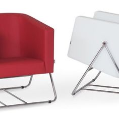 Regardless of the sitting experience you wish to give your guests, you will always want it to be comfy and a little different, right? Balance is for you so why not try it! This charming one-seater can be as vibrant as you want and sophisticated, depending on the shade you go for. The red and white one-seater is ever so fun and comfortable and allows you to adjust the base and sit at an angle you desire. Sit as crazily as you want or as smart as you like all with this beauty. Trash Bins, Recycling Bins, Red And White, Vibrant, Household, Base, Comfy, Chair, Fun