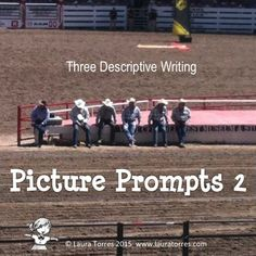FREE! Descriptive Writing Picture Prompts 2. Using writing prompts with photos to teach descriptive writing is an effective exercise. Teach your students to use concrete, or sensory, detail with three thought-provoking photos with writing prompts and notes on using sensory detail.