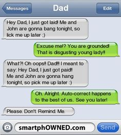 HAHA - - Autocorrect Fails and Funny Text Messages - SmartphOWNED