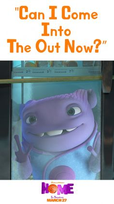 Home is a fun filled movie with a loveable alien names Oh. Sponsored by DreamWorks.