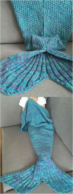 Mermaid Baby Blanket,lovely gift for your kids. #mermaid #blanket #crafty #diy
