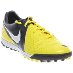 Mens Nike CTR360 Libretto III Soccer Cleats Yellow Leather - ONLY $56.99