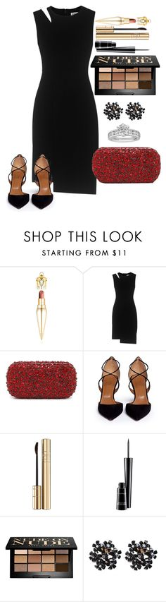 """Untitled #1290"" by fabianarveloc on Polyvore featuring Christian Louboutin, Whistles, Alice + Olivia, Aquazzura, Dolce&Gabbana, MAC Cosmetics, Bobbi Brown Cosmetics and Tiffany & Co."