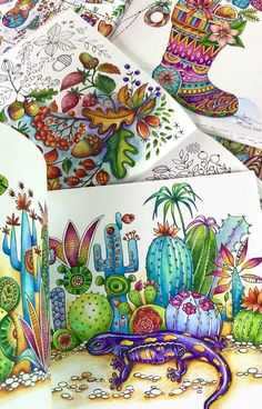 Coloring Book Art, Adult Coloring Pages, Colouring, Forest Drawing, Colored Pencil Techniques, Sharpie Art, Coloured Pencils, Color Pencil Art, Book Aesthetic
