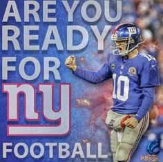 New York Giants 2015 is a make or break year for Eli & Coughlin. For the Giants in general New York Giants Football, My Giants, Best Football Team, Ny Yankees, Football Fever, New York Giants Players, New York Giants Logo, Nfl Season, Football Season