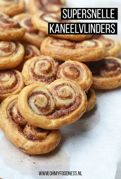 Made with homemade pastry, so wasn't as it should be! Dutch Recipes, Sweet Recipes, Baking Recipes, Snack Recipes, Tea Recipes, High Tea Food, Homemade Pastries, Homemade Cookies, Good Food