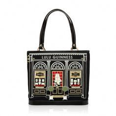 992a1f7675 jewellery shop bag lulu guiness Kawaii Bags, Shiny Shoes, Wedding Bag, Lulu  Guinness