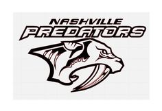 Nashville Predators NHL Hockey Team Logo Decal Sticker #hockeynhlteamsdecals