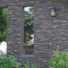 Stacked Stone Dark Brown Panel | 2storee