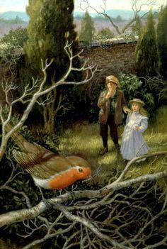 Ruth Sanderson - Mary & Dickon In The Secret Garden