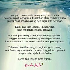 Keras hati karena cinta dunia Islamic Quotes, Islamic Art, Family Rules, Reminder Quotes, S Quote, Wall Art Quotes, Always Remember, Deep Thoughts, Allah
