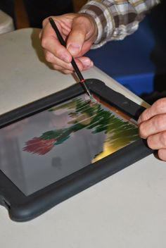 A project called iPad engAGE, founded in the UK, is using tablet computers to engage and stimulate people with dementia and others in various locations