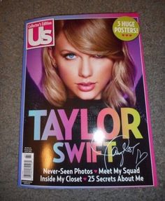 US Magazine- Taylor Swift Collector's Edition 2016 // Coming Soon I WANT THIS