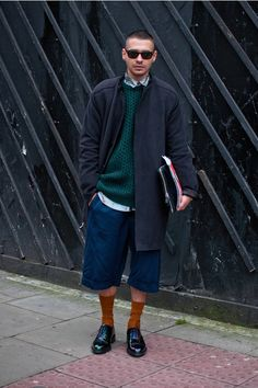 uk streetstyle IX. Bold but this guy pulled it off well
