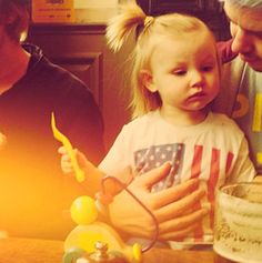Baby Lux is not impressed -E