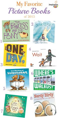 My Favorite Picture Books 2015 - so many books we're excited to read!