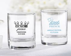 Personalized Shot Glass/Votive Holder Little Prince Tea Lights Candle Holders Rocks Shots Royalty Theme First Birthday Boy Baby Shower Prince Birthday Theme, Boy First Birthday, Birthday Favors, Baby Shower Favors, Baby Shower Themes, Baby Boy Shower, Shower Ideas, Prince Party Favors, Royal Baby Showers