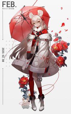 (8) ホーム / Twitter Female Character Design, Character Design Inspiration, Character Concept, Character Art, Kawaii Anime Girl, Anime Art Girl, Style Japonais, Art Reference Poses, Dark Fantasy Art