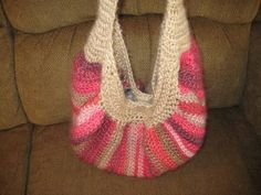 My first post with pics!! Fat bottom bag - CROCHET