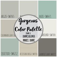 Explore design and architectural trends as we tour the homes in this year's Homearama Interior Paint Colors, Paint Colors For Home, Paint Colours, Dining Room Colors, Kitchen Colors, Bedroom Colors, Wall Colors, House Colors, Master Bathroom Plans
