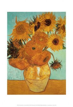 Sunflowers, c.1888 Art Print at AllPosters.com