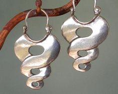 Sólido 925 Plata Esterlina Aretes dominante símbolo Celta Nuevo Con Bolsa De Regalo