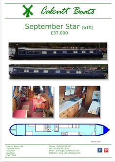 1989 61ft—powered by a BMC 1.8. Accommodation from the stern:- As you come through the engine room you enter the bedroom which has good storage and a fixed double bed, bathroom has a pump out toilet wash basin and hip bath with shower over, galley has a free standing cooker washing machine sink and fridge with lots of work surface space,  the  Saloon has a multi fuel stove tv stand and some free standing furniture. Boat safety until May 2021. Canal Boat Holidays, Multi Fuel Stove, Boat Safety, Boats For Sale, Heating Systems, Double Beds, Basin, Engineering, Work Surface