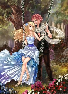 Image de nalu, fairy tail, and love