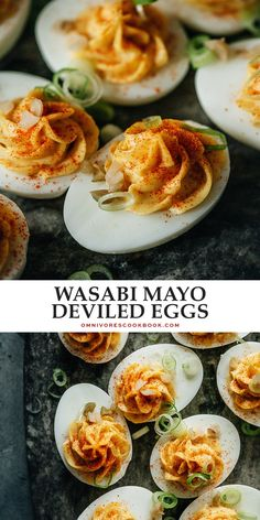Give a holiday classic a surprising twist with these Chinese deviled eggs that are bursting with exciting flavors to shake things up! {Gluten-Free} @peteandgerrys #ad #BelieveInWhatYouBuy Best Egg Recipes, Side Dish Recipes, Indian Food Recipes, Asian Recipes, Chinese Recipes, Popular Recipes, Ethnic Recipes, Amazing Recipes, Delicious Recipes