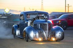 This Airplane-Engine 1939 Plymouth Pickup is Radically Radial