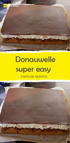 Donauwelle super easy LECKER Donauwelle super easy LECKER The post Donauwelle super easy LECKER appeared first on Kuchen Rezepte. Easy Cake Recipes, Cookie Recipes, Dessert Recipes, Oatmeal No Bake Cookies, Cupcakes, Slow Cooker Pasta, Dark Chocolate Cookies, Pudding Desserts, Food Inspiration