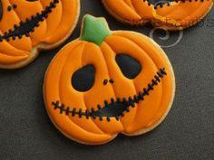 Jack Skellington Halloween Cookies