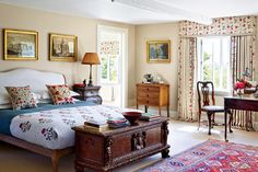 Edmund Burke and Adrian Sassoon's Courtyard House, Devon - Bed Porn! 6 Stately Bedrooms to Turn You On