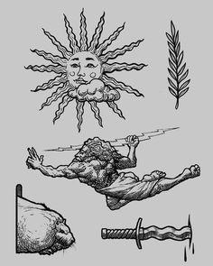Tattoo art sketch nik_zag Dessin d& de tatouage nik_zag Kunst Tattoos, Body Art Tattoos, Tatoos, Tattoo Sketches, Drawing Sketches, Sketch Art, Flash Sketch, Little Tattoos, Small Tattoos