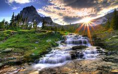 A natureza e suas belezas.
