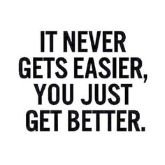 You just get better | Posted By: NewHowToLoseBellyFat.com