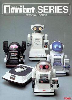 Art,fashion,design,technology etc from the atomic space age Vintage Robots, Retro Robot, Retro Toys, Vintage Toys, 1960s Toys, Tomy Toys, Programmable Robot, Science Fiction, Japanese Robot