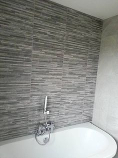 Tile Mountain, £25 psm  Brix Stratum Anthracite Wall Tile Roomset
