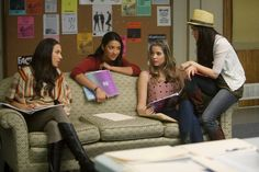 Spencer, Emily, Hanna, and Aria