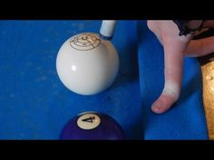 Using the icue training ball to demonstrate the Masse/curve shot! Pool Table Games, Pool Table Room, Bar Games, Pool Tables, Billiards Bar, Play Pool, Pool Cues, Game Room, Fun Facts